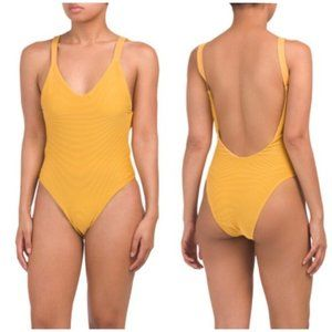 Vitamin A Fred Segal Louise BioRib Swimsuit 6/S